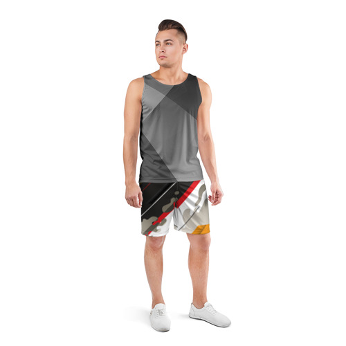 Мужские шорты 3D спортивные  Фото 04, Pat24
