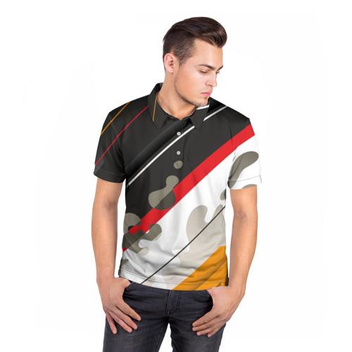 Мужская рубашка поло 3D Pat24