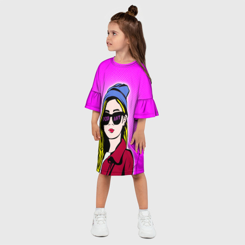 Детское платье 3D  Фото 03, POP ART