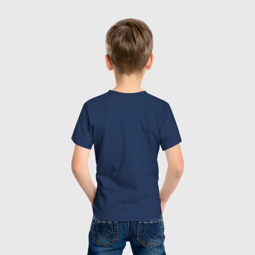 Детская футболка хлопок Котик с бургером и фри Фото 01