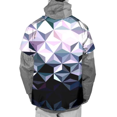 Накидка на куртку 3D  Фото 02, Lowpoly Pattern