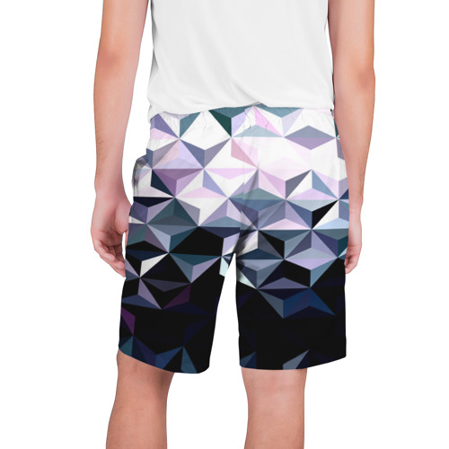 Мужские шорты 3D  Фото 02, Lowpoly Pattern