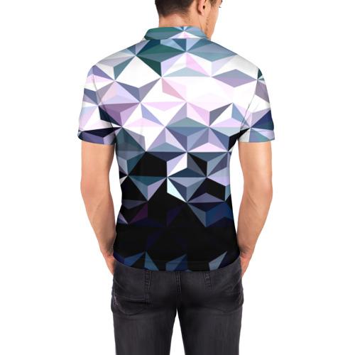 Мужская рубашка поло 3D  Фото 04, Lowpoly Pattern
