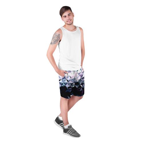 Мужские шорты 3D  Фото 03, Lowpoly Pattern