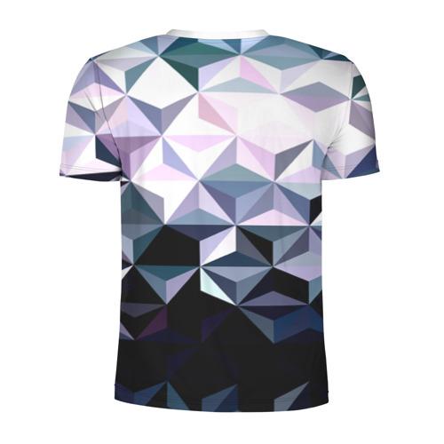 Мужская футболка 3D спортивная  Фото 02, Lowpoly Pattern