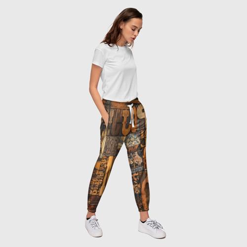 Женские брюки 3D  Фото 03, Литеры