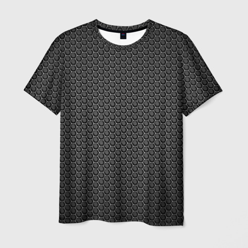 Мужская футболка 3D Black Iron