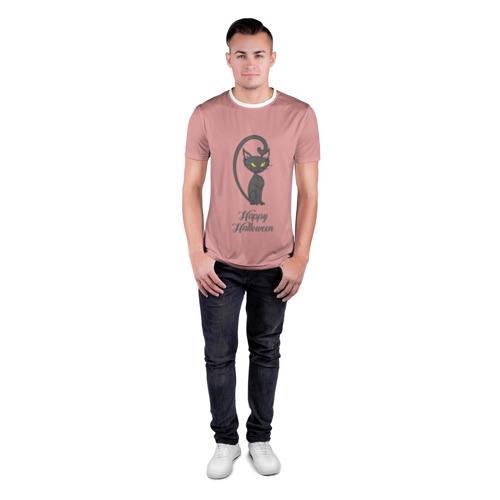 Мужская футболка 3D спортивная  Фото 04, Halloween