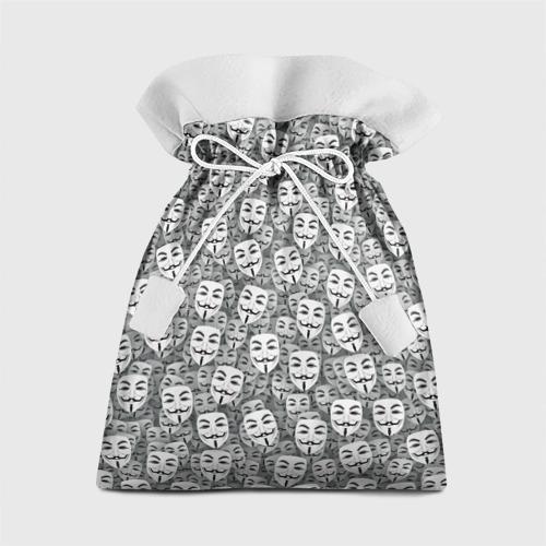 Подарочный 3D мешок Анонимусы