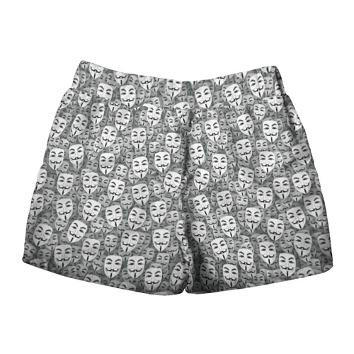 Женские шорты 3D  Фото 02, Анонимусы