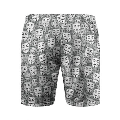 Мужские шорты 3D спортивные  Фото 02, Анонимусы