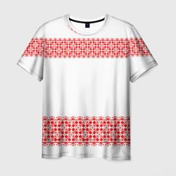 Славянский орнамент (на белом) - интернет магазин Futbolkaa.ru