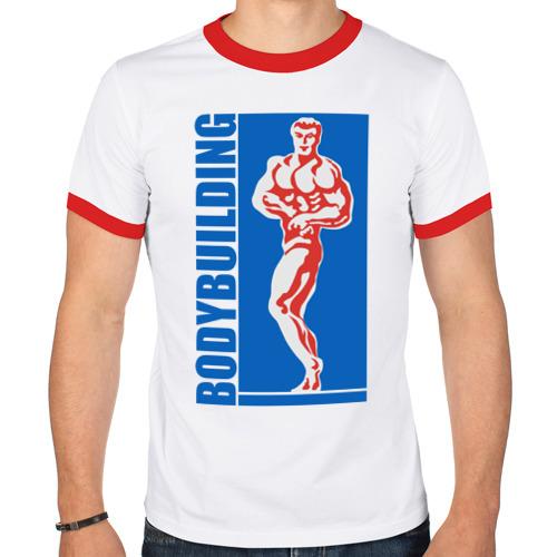 Мужская футболка рингер  Фото 01, Bodybuilding
