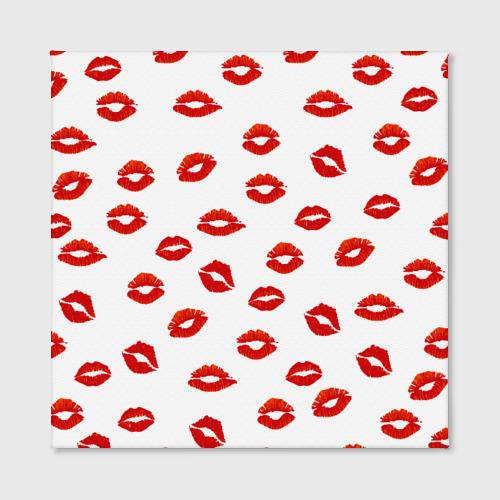 Холст квадратный  Фото 02, Поцелуйчики