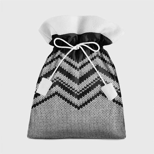 Подарочный 3D мешок Узорное вязание