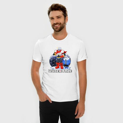Мужская футболка премиум  Фото 03, Papyrus & Sans