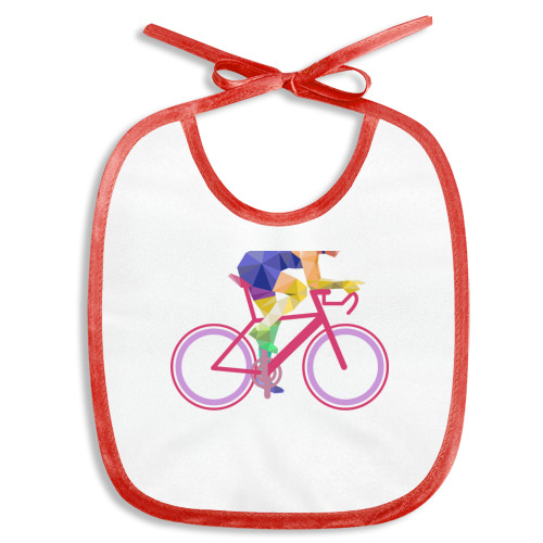 Слюнявчик Велосипедист
