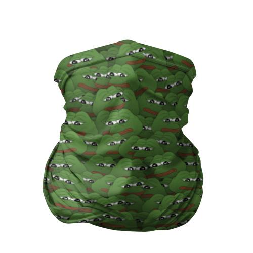 Бандана-труба 3D Грустные лягушки