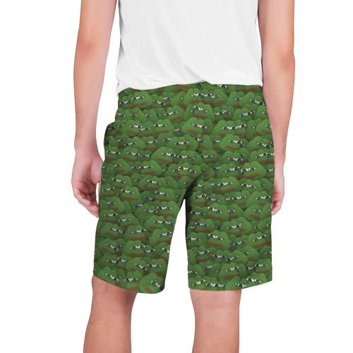 Мужские шорты 3D Грустные лягушки Фото 01