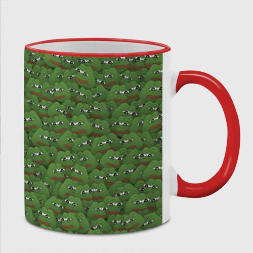 Кружка с полной запечаткой  Фото 02, Грустные лягушки
