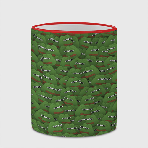 Кружка с полной запечаткой  Фото 03, Грустные лягушки