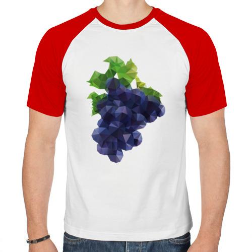 Мужская футболка реглан  Фото 01, Виноград