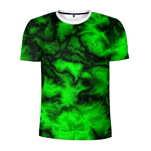Мужская футболка 3D спортивная  Фото 01, Абстракт