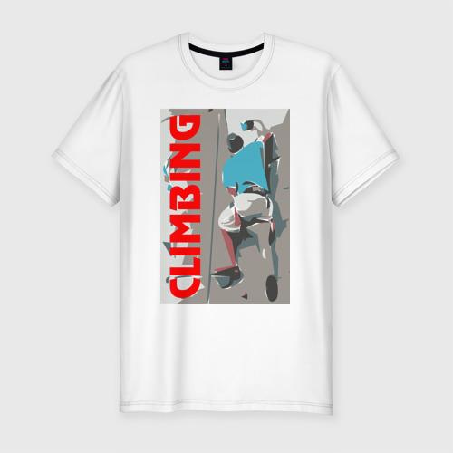 Мужская футболка премиум  Фото 01, Восхождение