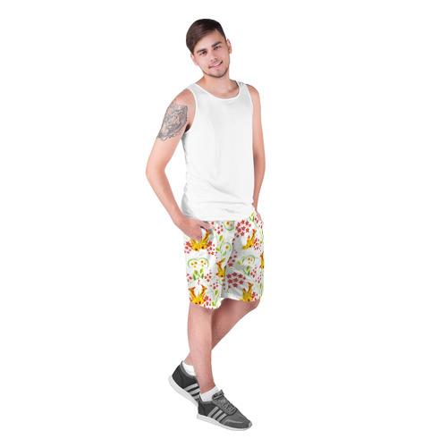 Мужские шорты 3D  Фото 03, Хохлома 3