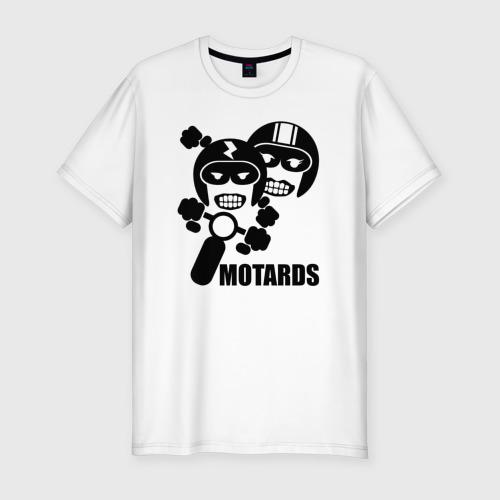 Мужская футболка премиум  Фото 01, Мотоциклисты