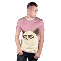Grumpy cat pink
