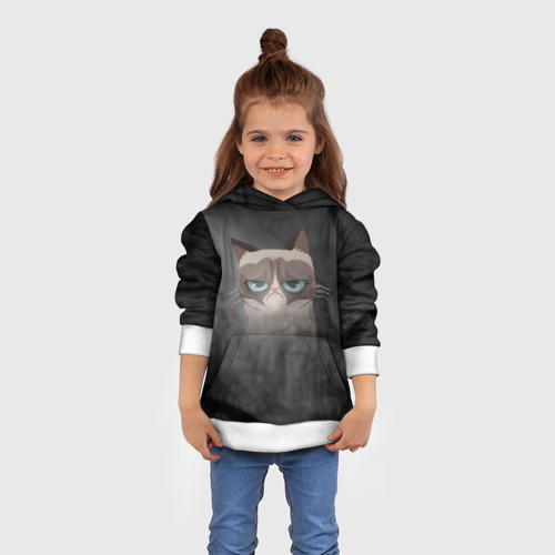 Детская толстовка 3D Grumpy Cat