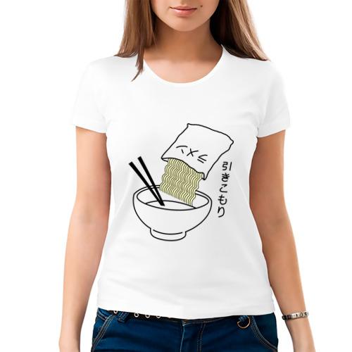 Женская футболка хлопок  Фото 03, noodles