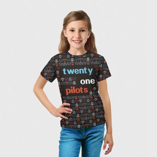 Детская футболка 3D  Фото 03, Twenty one pilots