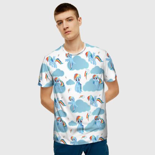 Мужская футболка 3D My Little Pony Фото 01