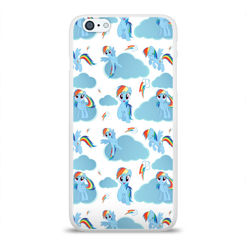Чехол для Apple iPhone 6Plus/6SPlus силиконовый глянцевый  Фото 01, My Little Pony