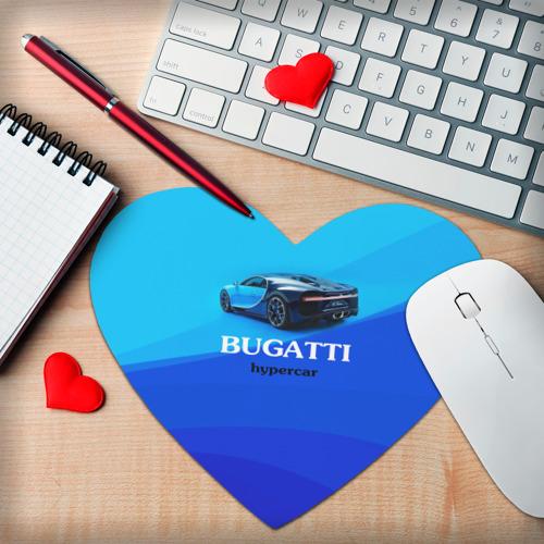Коврик для мыши сердце  Фото 02, Bugatti hypercar