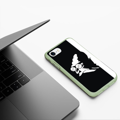 Чехол для iPhone 7/8 матовый Grandfather Фото 01