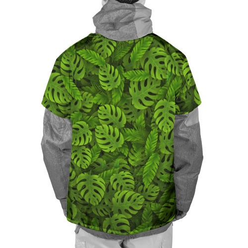 Накидка на куртку 3D  Фото 02, Тропические листья