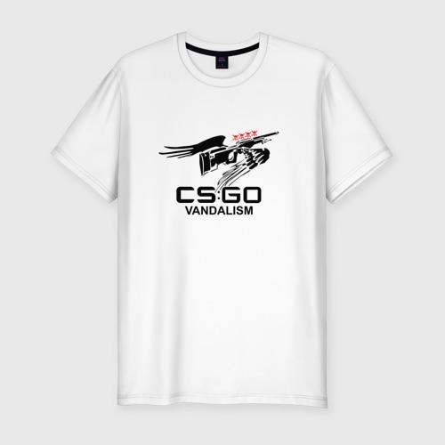 Мужская футболка премиум  Фото 01, cs:go - Mirage graffity