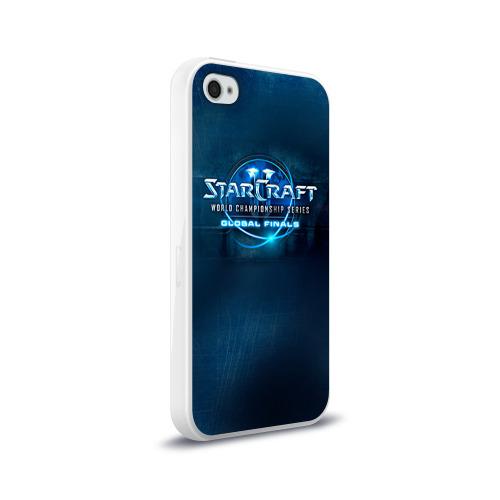 Чехол для Apple iPhone 4/4S силиконовый глянцевый StarC Фото 01