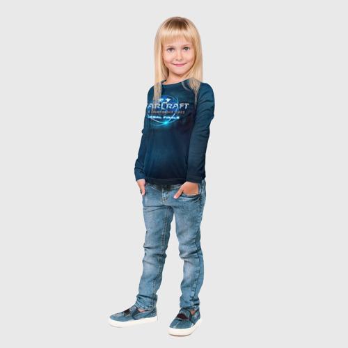Детский лонгслив 3D StarC Фото 01