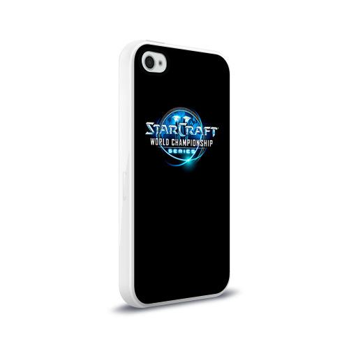 Чехол для Apple iPhone 4/4S силиконовый глянцевый StarC 1 Фото 01