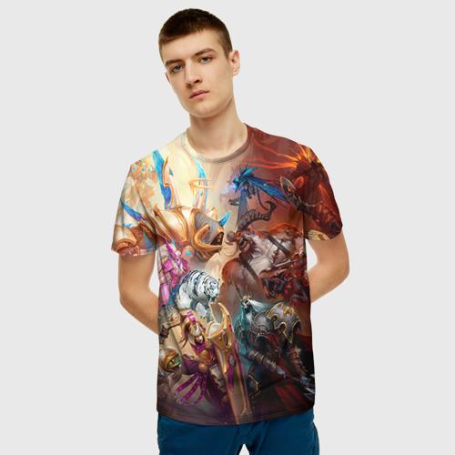 Мужская футболка 3D  Фото 03, HotS