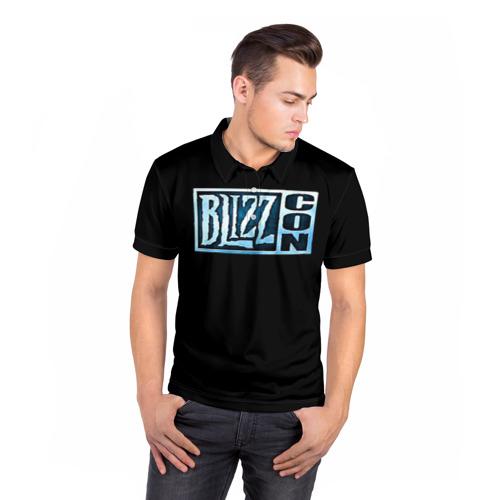 Мужская рубашка поло 3D BlizzCon Фото 01