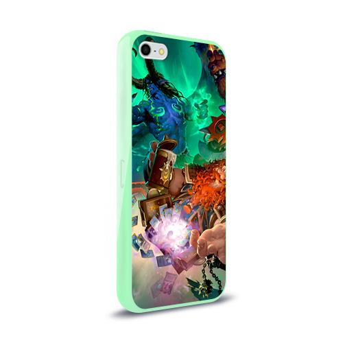 Чехол для Apple iPhone 5/5S силиконовый глянцевый  Фото 02, Blizzard