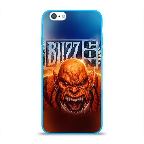 Чехол для Apple iPhone 6 силиконовый глянцевый BlizzCon 1 Фото 01