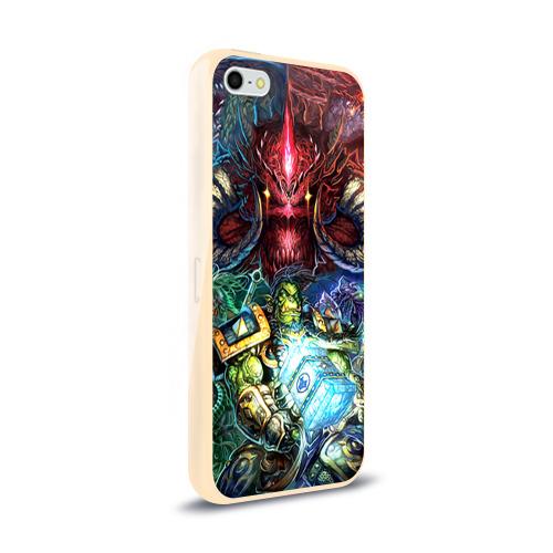 Чехол для Apple iPhone 5/5S силиконовый глянцевый  Фото 02, Blizzard 1