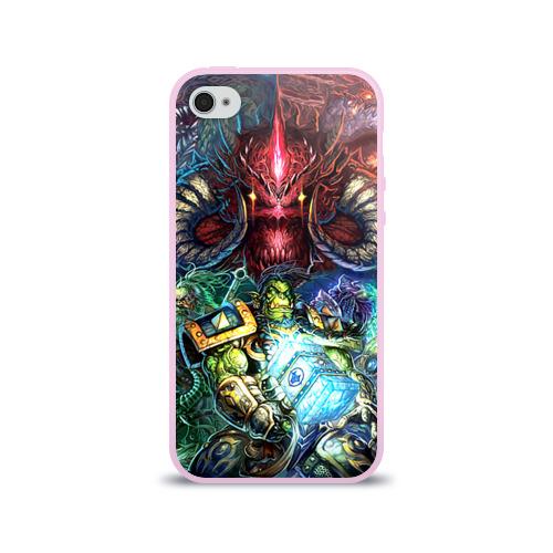 Чехол для Apple iPhone 4/4S силиконовый глянцевый Blizzard 1 Фото 01