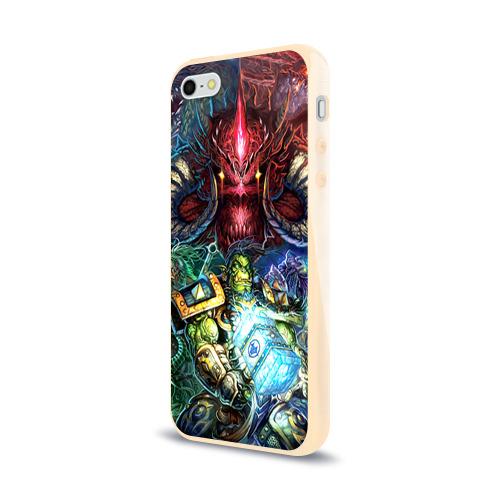Чехол для Apple iPhone 5/5S силиконовый глянцевый  Фото 03, Blizzard 1